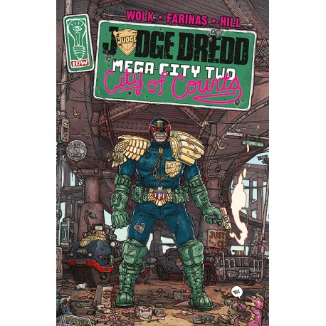 Juddge Dredd : Mega-City Two